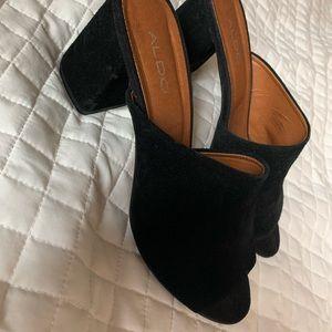 Aldos chunky heel